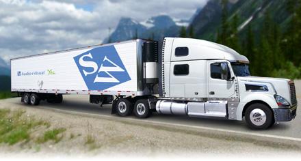 Servicing Western Canada - SW Semi Truck