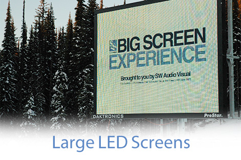Big LED Screen Rentals