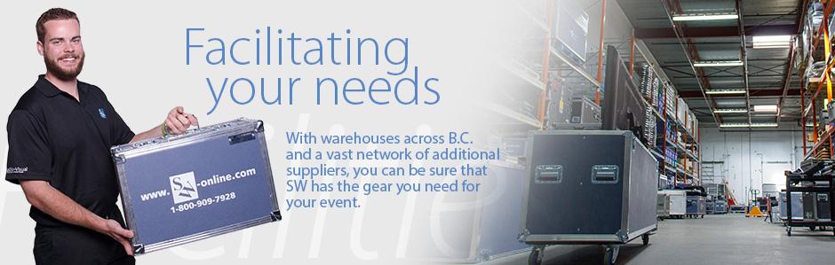 SW AV Graphic | Facilitating your needs